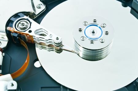 virus informatico: Unidad de disco duro