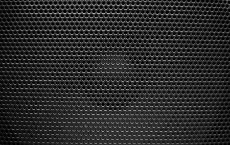 speaker grill: Speaker grill texture black Stock Photo