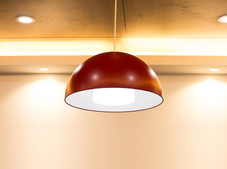 Ceiling light Standard-Bild
