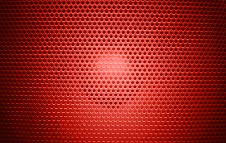 Speaker grill texture red