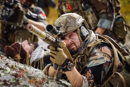 sniper: sniper Stock Photo