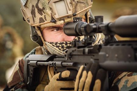 sniper Standard-Bild