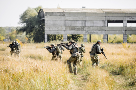 Ranger-Team in der Exploration Bereich Lizenzfreie Bilder