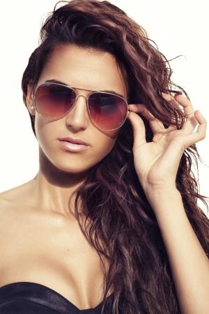 Sunglasses aviator photo