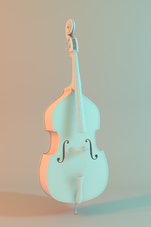 jazzy: Double bass white model