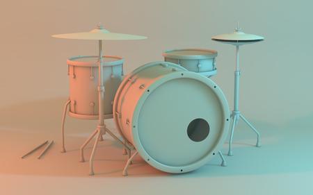 Drum white model
