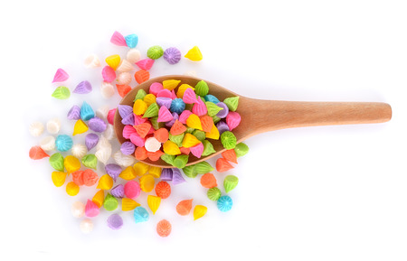Aalaw Candy Colorful,Thai dessert Stock Photo