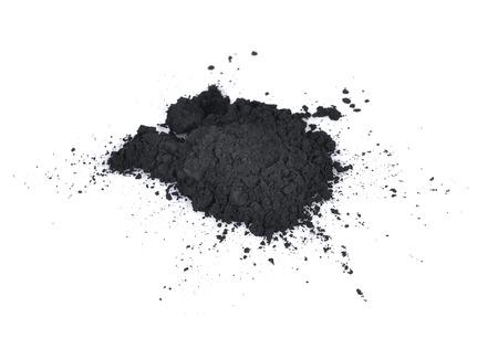 commodities: carbón sobre un fondo blanco