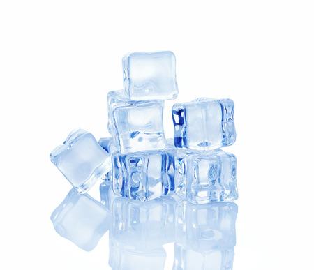 ice isolated on white background.