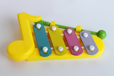 Xylophone in multi colours Stock Photo