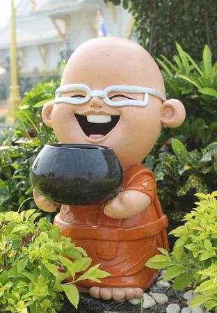 doll stone in garden