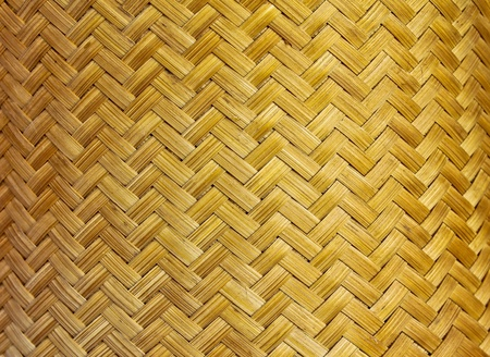 Texture of fabricated bamboo bark  photo