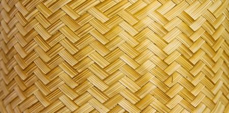 Texture of fabricated bamboo bark