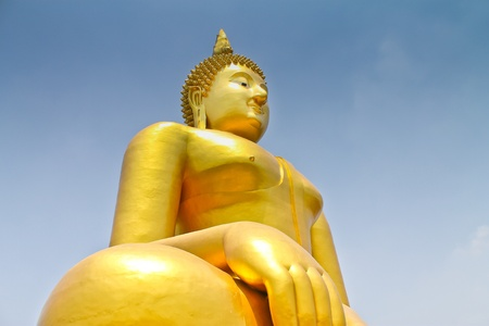 Statue of Buddha in Thailand Stock Photo - 13315124