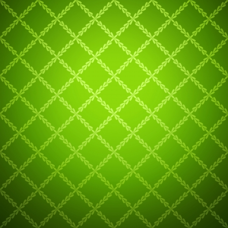 lightly: Green cloth texture background. Vector illustration for your fresh natural design. Book cover. Fabric bright ecological canvas wallpaper with delicate striped pattern.