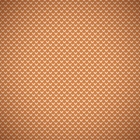 cloth texture: Vintage summer vector seamless pattern (with swath, tiling). Retro orange shabby color. Endless texture can be used for printing onto fabric, paper, scrap booking. Abstract shape. Leaves. Illustration