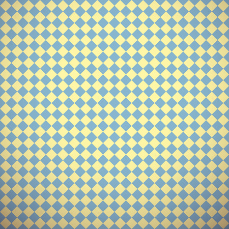 10 Classic different vector seamless patterns (tiling). Blue, yellow and brown colors. Endless texture for printing onto fabric, paper, scrap booking. Abstract dot and square shape. Classy background. Vector