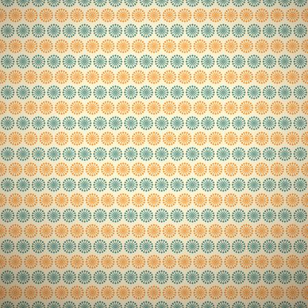 feminine background: 10 patrones atractivos vector sin costura (alicatado). , Colores naranjas azules. Textura para la impresi�n sobre tela, papel, chatarra de reserva. Flor abstracta, forma. Fondo femenino con clase. Retro y vintage. Vectores