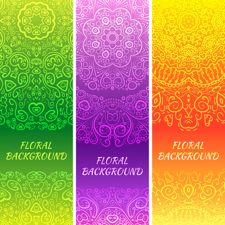 oriental rug: Tribal ethnic vintage banners. Vector illustration for your cute feminine romantic design. Aztec sign on white background. Pink and blue colors. Border and frame. Oriental rug napkin. Stripe pattern.