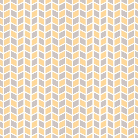 Soft vector seamless pattern (tiling). Endless texture for wallpaper, fill, web page background, texture. Delicate geometric ornament. Yellow, grey and white shabby colors Vector