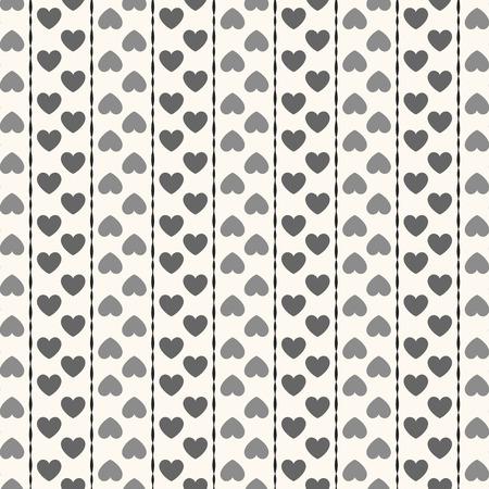 Fondo de corazones blanco y negro - Imagui