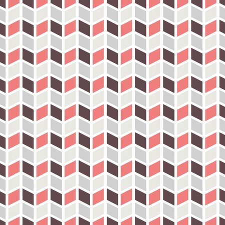 red cube: Geometric pattern  tiling   Vector seamless abstract vintage background  Retro red, grey and white colors  Endless texture can be used for printing onto fabric and paper  Elegant ornament  Illustration
