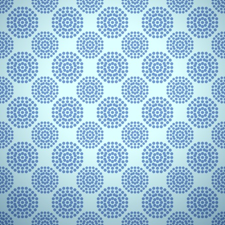 behang blauw: Golfvector patroon betegelen Vector illustratie voor aqua ontwerp Endless textuur kan worden gebruikt voor het vullen, webpagina achtergrond, oppervlakte Blauw behang met golven