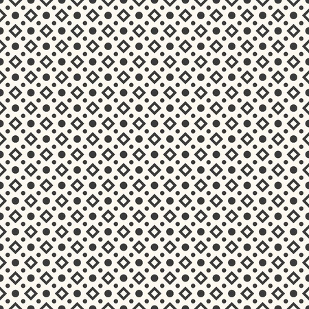 Abstract geometric dot seamless pattern.  Vector