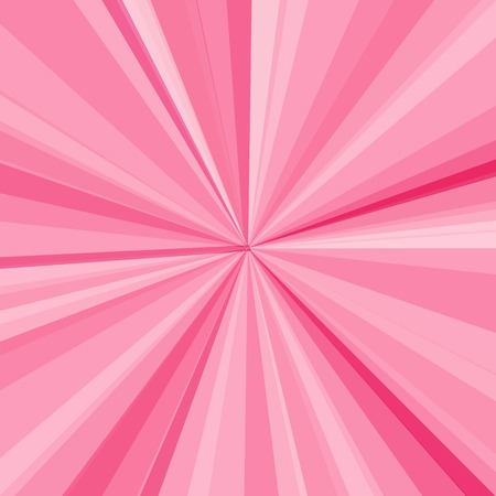 pink sky: Pink rays background. Vector illustration for your bright beams design. Sun theme abstract wallpaper.