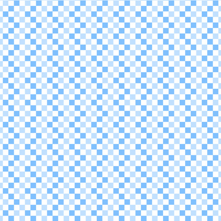 Plaid vector seamless pattern. Endless texture can be used for wallpaper, fill, web background, texture. Monochrome geometric ornament. Square shapes. White and blue colors. Wave ornament. Vector