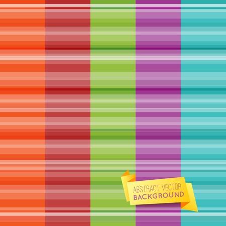 verde y morado: Conjunto de resumen de papel tapiz patr�n de rayas con bandera amarilla origami. Ilustraci�n vectorial para el dise�o lindo. Los colores claros de color naranja, rojo, verde, p�rpura y azul. Vertical de fondo sin fisuras.
