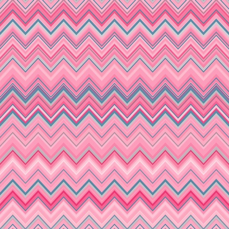 zag: Cute zig zag stripe seamless pattern. Vector illustration for abstract design. Can be used for wallpaper, cover fills, web page background, surface textures. Pink blue color.