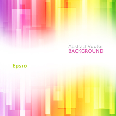 Abstract bright background. Vector illustration for modern design. Spectrum rainbow colors. Stripe border pattern. Invitation or greeting card design. Gradient colorful wallpaper with space for message.