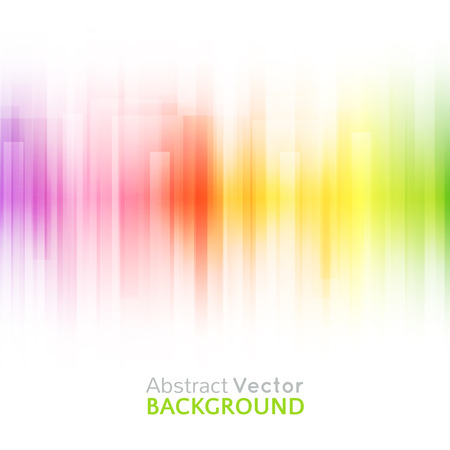 vibrant color: Abstract bright background. Vector illustration for modern design. Spectrum rainbow colors. Stripe border pattern. Invitation or greeting card design. Gradient colorful wallpaper with space for message.