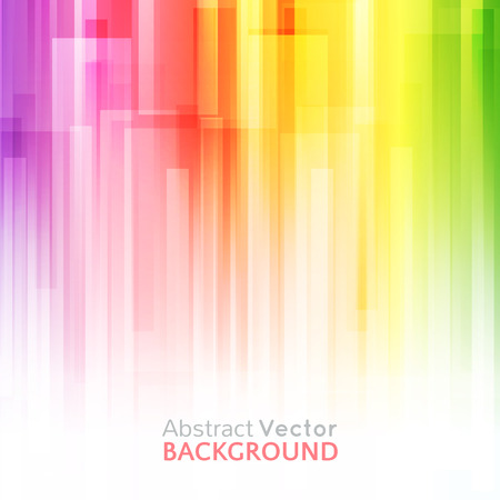 vibrant: Abstract bright background. Vector illustration for modern design. Spectrum rainbow colors. Stripe border pattern. Invitation or greeting card design. Gradient colorful wallpaper with space for message.