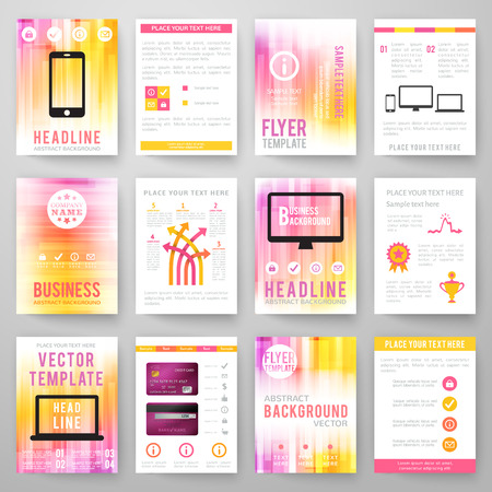 Professional Three Fold Business Flyer Template Corporate - Brochure template online