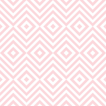 pale: Ethnic tribal zig zag and rhombus seamless pattern. Vector illustration for beauty fashion design. Pink white colors. Vintage stripe style. Illustration