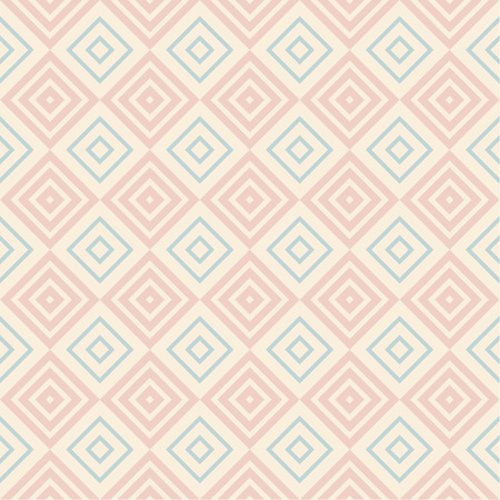 Pastel retro vector seamless pattern. Endless texture can be used for wallpaper, pattern fills, web page background, surface textures. Shabby geometric ornament.