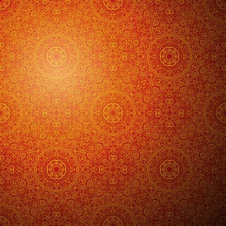 中国語の背景をパターンします。ファッション デザインのベクトル図です。好きな高級グリーティング カード、花の装飾、メニューの招待状の優れ
