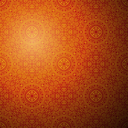 fond: Chinese pattern background. Vector illustration for your fashion design. Fond fine greeting card, postcard with floral ornaments, excellent element for menu and invitation.