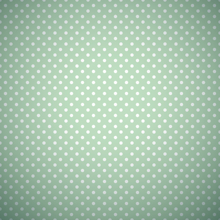 Retro mint and emerald vector seamless pattern.