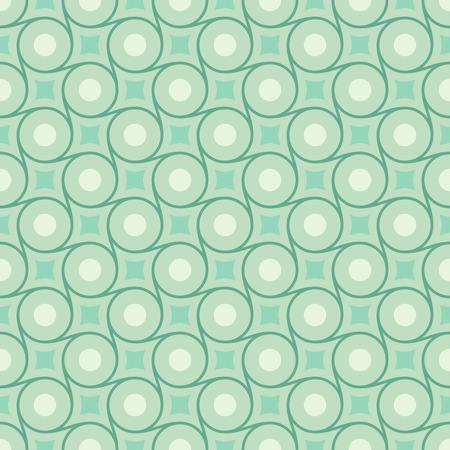 emerald: Retro mint and emerald vector seamless pattern.