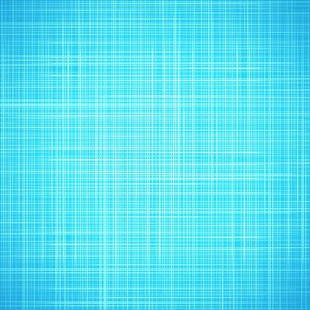 光の青い布テクスチャ背景。 夏の空とアクア水の設計図。本の表紙。繊細なストライプ パターンの生地キャンバス壁紙。