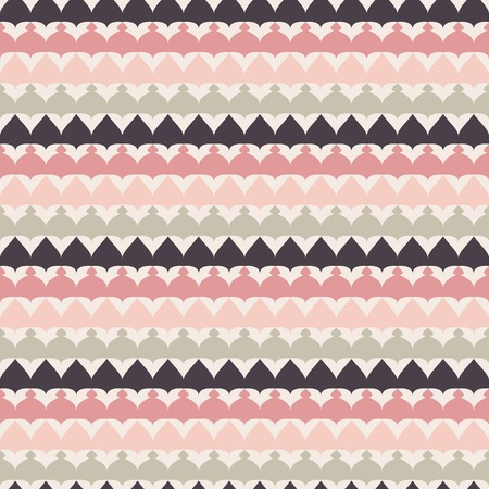 pink and black: Cute retro abstract stripe seamless pattern.  illustration for ethnic tribal design. Can be used for wallpaper, cover fills, web page background, surface textures. Pink, black and white colors.