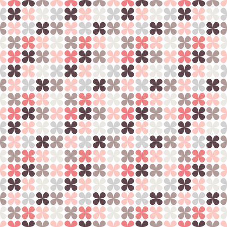 wallpaper floral: Cute retro abstract floral seamless pattern.  illustration for flower design. Can be used for wallpaper, cover fills, web page background, surface textures. Pink, black and white colors.
