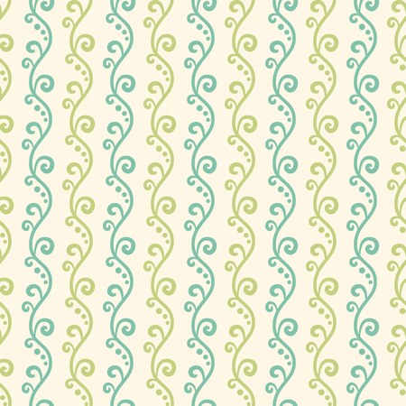 pastel colors: Green garden  seamless pattern. Abstract texture can be used for printing onto fabric and paper or scrap booking. Green and blue pastel shabby colors. Foto de archivo
