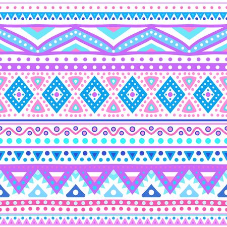 stripe pattern: Tribal ethnic seamless stripe pattern