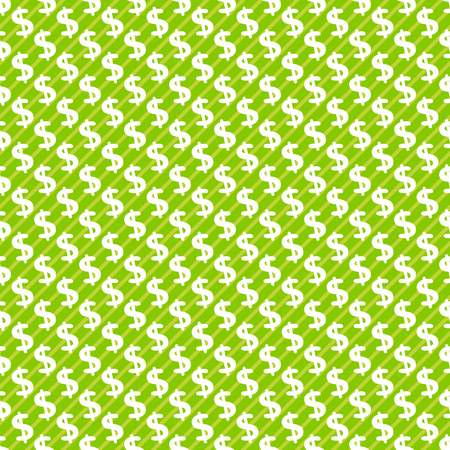 dollar sign: Dollar sign abstract seamless pattern background Stock Photo