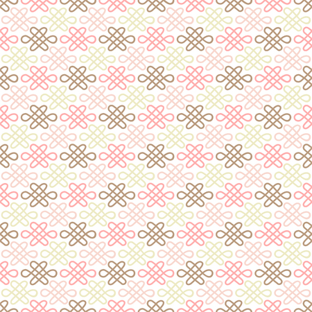 fabric patterns: Delicate lovely seamless pattern. Fond pink, white and brown colors