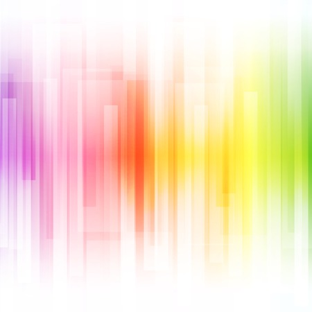 Abstract bright background. illustration for modern design. Spectrum rainbow colors. Stripe border pattern. Invitation or greeting card design. Gradient colorful wallpaper with space for message. Standard-Bild